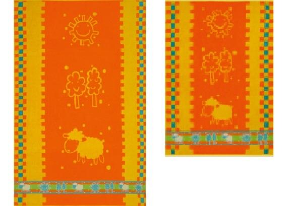 ПЦ-1202-2145 полотенце 100х150 махр п/т AGNELLO цв.10000 купить оптом и в розницу