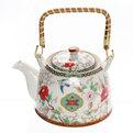 Чайник заварочный керамический 750 мл с ситом ″Лотосы″ 2 купить оптом и в розницу