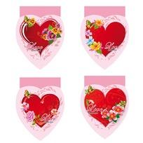 Блокнот 48 л. А7 Любимые сердечки Б48-5061 купить оптом и в розницу