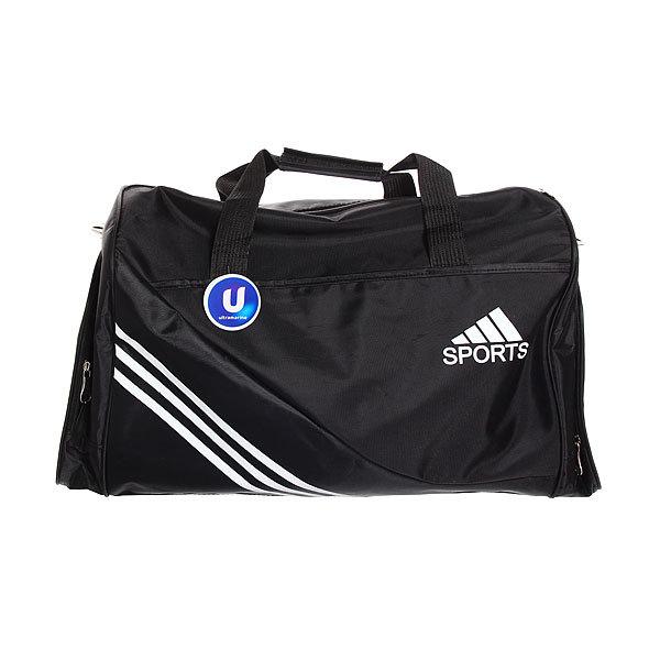 Сумка дорожно-спортивная Ультрамарин - Спорт″, цвет черный 56*31*21 купить оптом и в розницу
