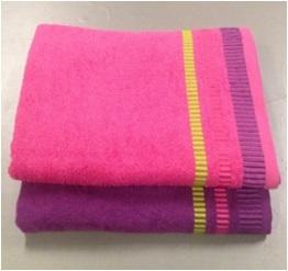 Полотенце 50х90 Spany home Nice цв.фиолетовый купить оптом и в розницу