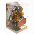 Ёлка 20 см украшенная с подвеской ″Процветания!″ купить оптом и в розницу