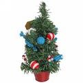 Ёлка 30 см украшенная с подвеской ″Удачи в Новом году!″ купить оптом и в розницу