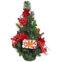 Ёлка 40 см украшенная с подвеской ″Веселого Нового года″ купить оптом и в розницу