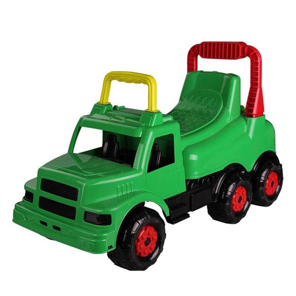 Каталка Веселые гонки зеленая М4483 купить оптом и в розницу