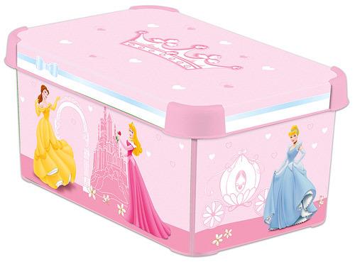 Коробка декоративная STOCKHOLM M DISNEY  PRINCESS Curver /10 шт (295х195х135)мм купить оптом и в розницу