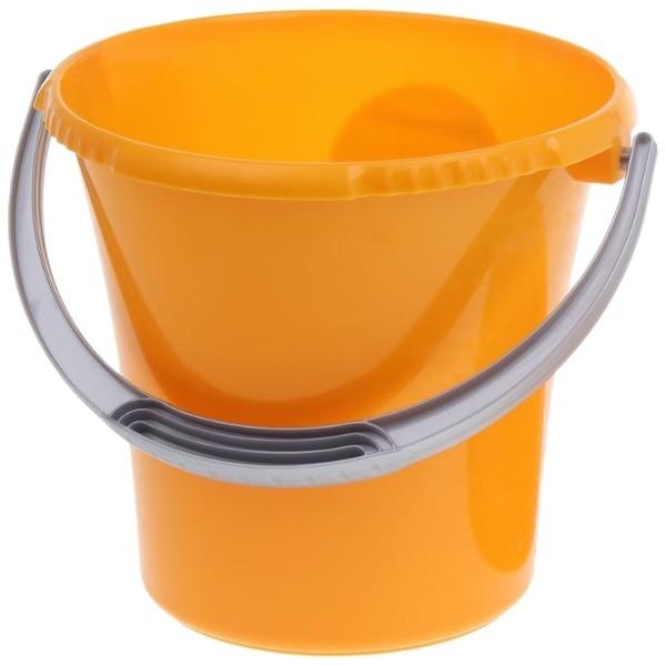 Ведро 5л ″Либерти″ оранжевое купить оптом и в розницу