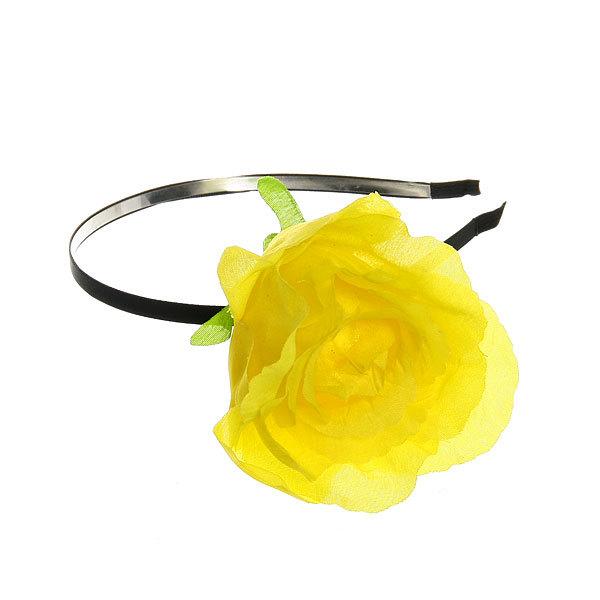 Ободок для волос ″Роза крупная″, цвет микс купить оптом и в розницу