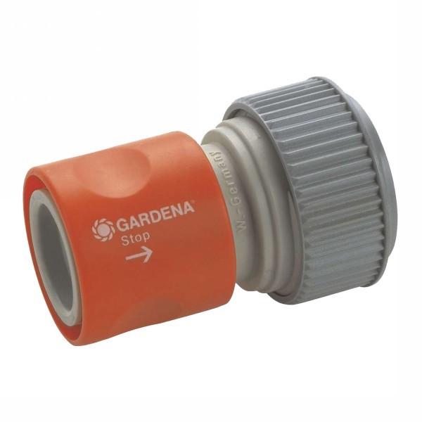 Коннектор с автостопом 3/4″ GARDENA 02914-29.000.00 купить оптом и в розницу
