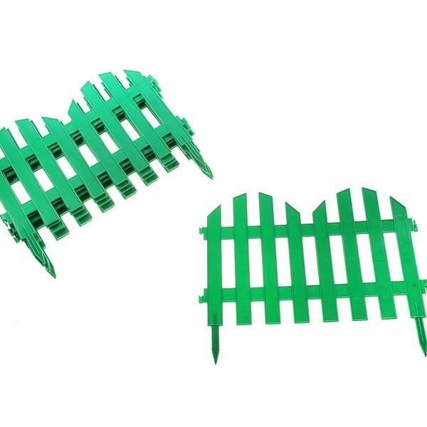 Забор декоративный № 4 (30*300) зеленый 1/5 купить оптом и в розницу