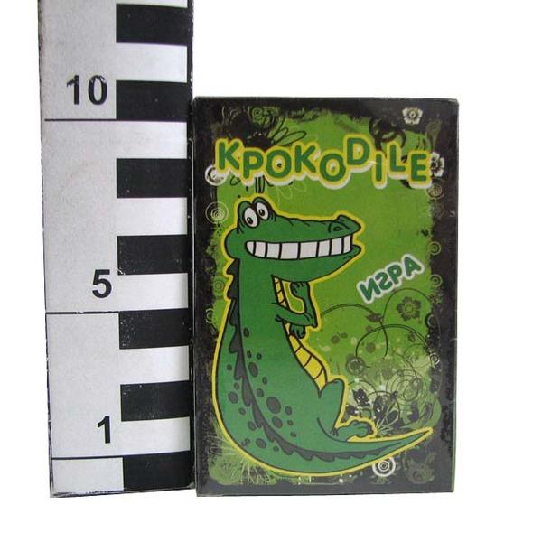 Игра Крокодил карточная ИК-4052 /Задира/ купить оптом и в розницу