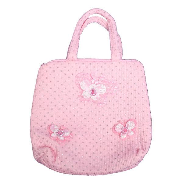 Сумка детская ″Модница″, цвет розовый 17*15 купить оптом и в розницу
