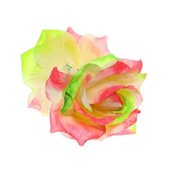Заколка-краб для волос ″Роза″, цвет микс купить оптом и в розницу
