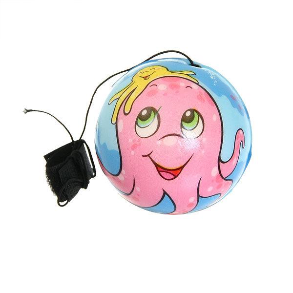 Мяч-антистресс Babyball 6,3см с резинкой, набор 12шт (цена за набор) купить оптом и в розницу