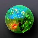 Мяч светящийся Блёстки 6,5см купить оптом и в розницу