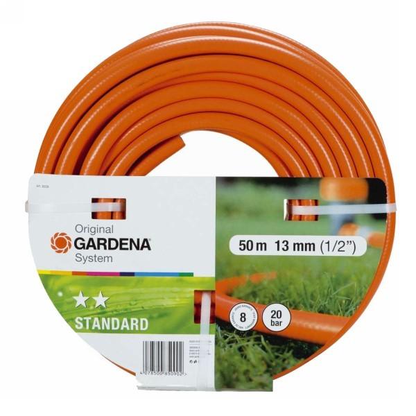 Шланг поливочный d12 мм (1/2″) 50м ПВХ Standart 08509-37.000.00 GARDENA купить оптом и в розницу