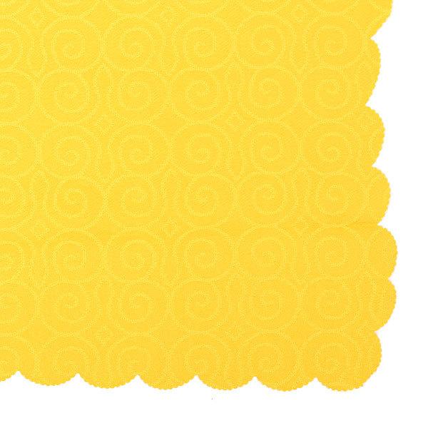 Скатерть ″Классика″ 140х180см полиэстер, цвет желтый Ультрамарин купить оптом и в розницу