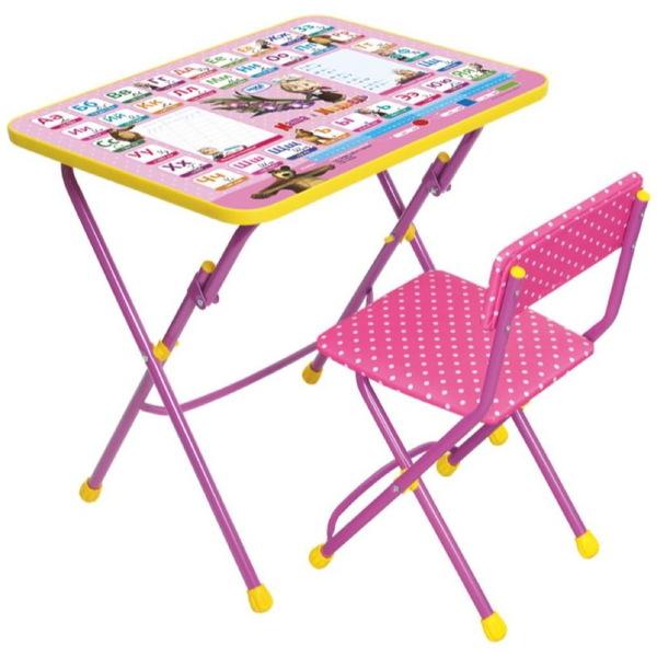 Набор детской мебели ″Маша и медведь.Азбука-3″ складной, мягкий стул КУ1/3 купить оптом и в розницу