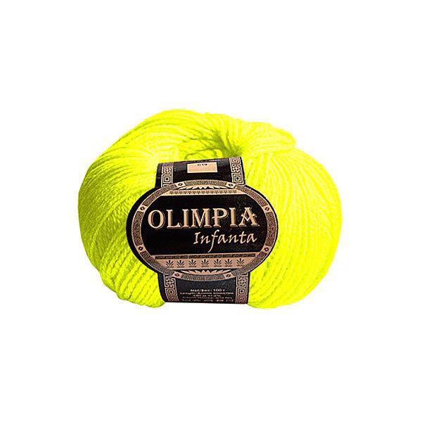 Пряжа для вязания Olimpia Infanta цв.C10 неон желтая 500г 5шт купить оптом и в розницу