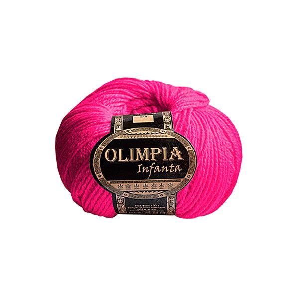 Пряжа для руч.вяз.″Olimpia Infanta″ цв.C13 неон розовая (ш-20%, акр-80%) 500г купить оптом и в розницу