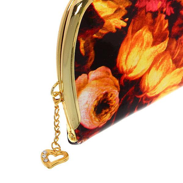 Кошелек женский лаковый ″Адель - розы″ цвет в ассортименте, 5 отделений, в подарочной коробке купить оптом и в розницу