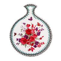 Подставка керамическая 15*18 см ″Цветочки″ в ассортименте купить оптом и в розницу