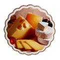 Подставка керамическая 19,5 см ″Сырная коллекция″ в ассортименте купить оптом и в розницу