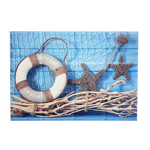 Подставка керамическая 12*17 см ″Морская коллекция″ в ассортименте купить оптом и в розницу