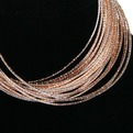 Браслет ″Очарование Индии″ золото и серебро 27 колец 597-1 купить оптом и в розницу