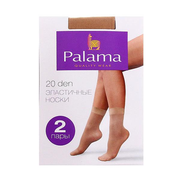 Носки женские 20 den PALAMA (2 пары), натуральный купить оптом и в розницу