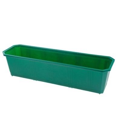 Ящик балконный 60 см темно-зеленый  *20 купить оптом и в розницу
