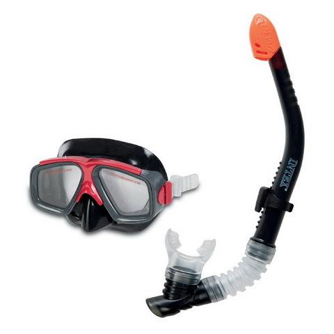 Набор для подводного плавания подростковый Surf Rider: маска,трубка, Intex (55949) купить оптом и в розницу