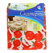 Скатерть ″Летнее настроение″ 120*150см, яблоки красные Ультрамарин купить оптом и в розницу