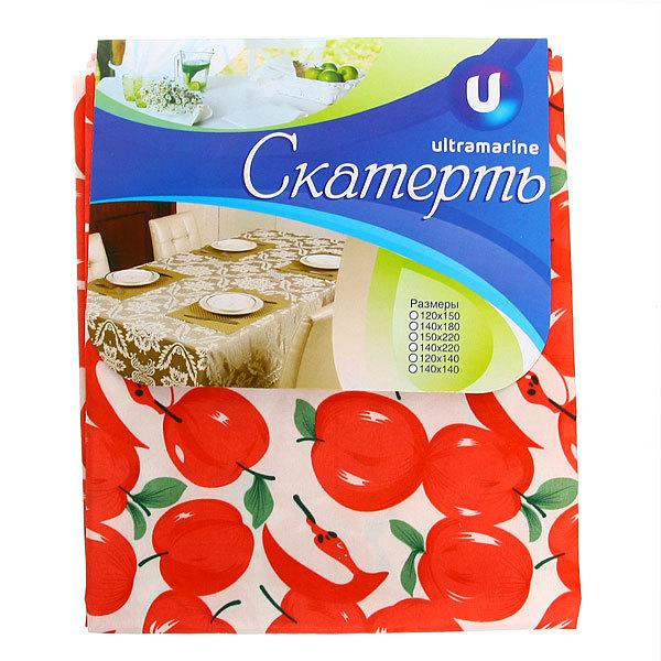 Скатерть ″Яблочки″ 150*220см купить оптом и в розницу