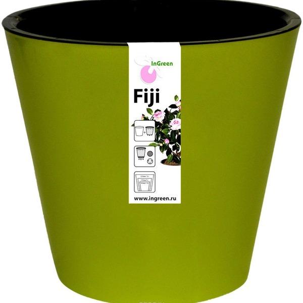 Горшок для цветов Фиджи D 160 мм/1,6 л салатовый  *16 купить оптом и в розницу