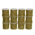 Шнур декоративный с бахрамой 4м золото 12шт купить оптом и в розницу