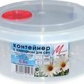 Контейнер для пищ.продуктов с клап.для СВЧ 0,8л 1/40 купить оптом и в розницу