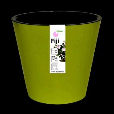 Горшок Фиджи D 230 мм/5 л салатовый*15 купить оптом и в розницу