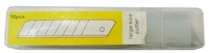 Лезвие сменное д/ножа YIWU большое 10шт купить оптом и в розницу
