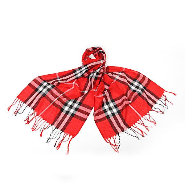 Палантин-шарф унисекс ″Модная клетка″ 170*60 242-8 купить оптом и в розницу