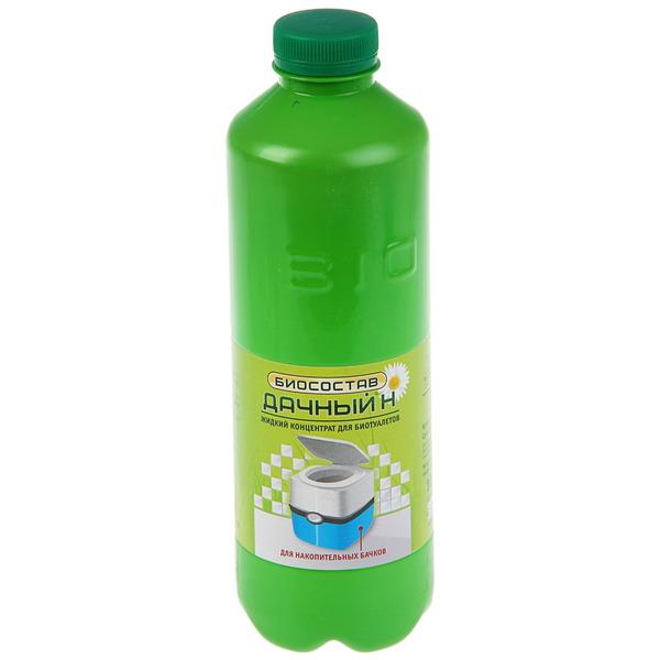Биосостав (концентрат для накопительных бачков биотуалетов) 1 л ″Дачный-Н″ купить оптом и в розницу
