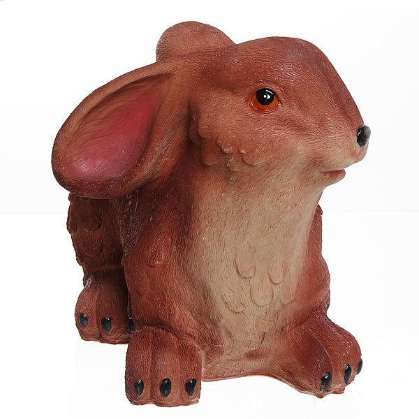 Садовая фигура ″Коричневый заяц″, 25*25 см купить оптом и в розницу