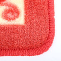 Коврик для ванны красно-желтый ″Вихрь″ 40*60 см купить оптом и в розницу
