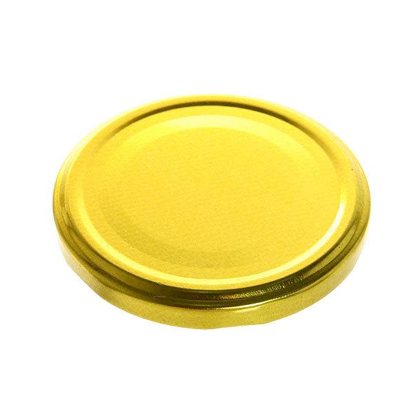 Крышка винтовая d 82мм Твист-ОФФ Золотая (цена за 1штуку) купить оптом и в розницу