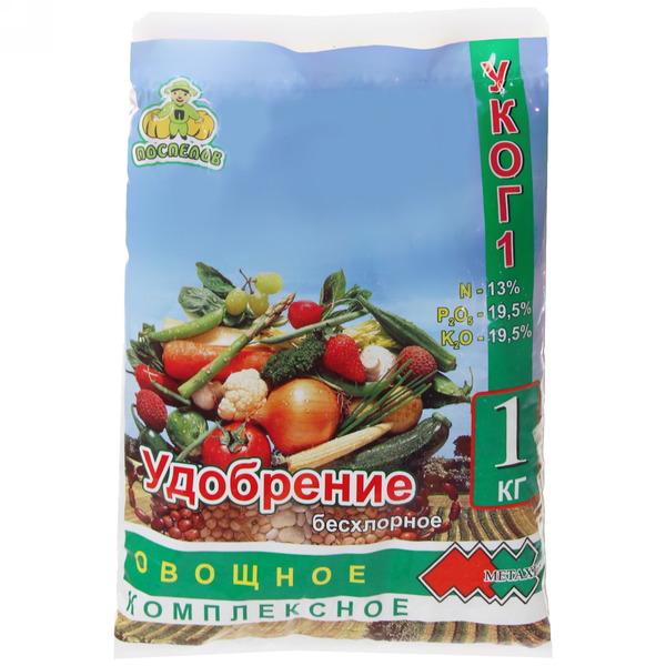 Удобрение 1кг Овощное УКОГ1 купить оптом и в розницу