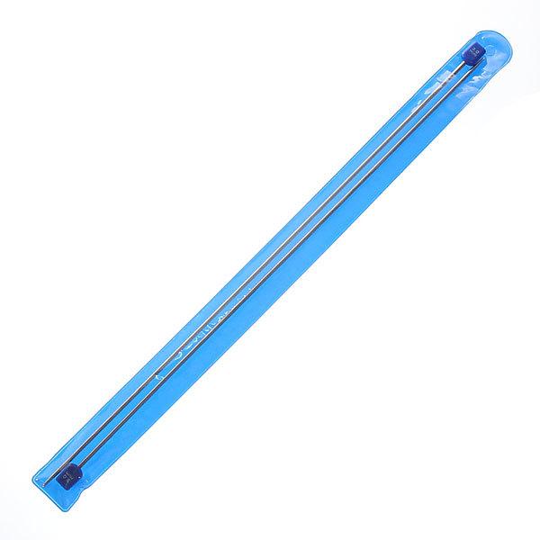 Спицы вязальные прямые стальные 3,0мм 34,5см купить оптом и в розницу