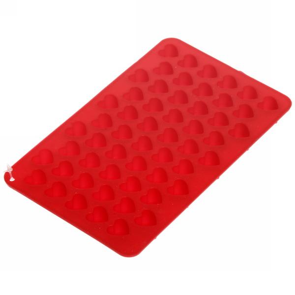 Форма для приготовления конфет ″Сердечки″ 18,5*11*1,4 см купить оптом и в розницу