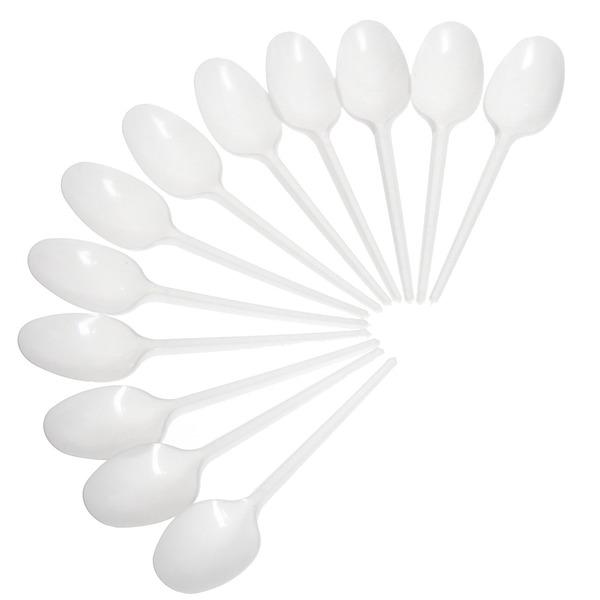 Ложка одноразовая столовая в наборе 12шт купить оптом и в розницу