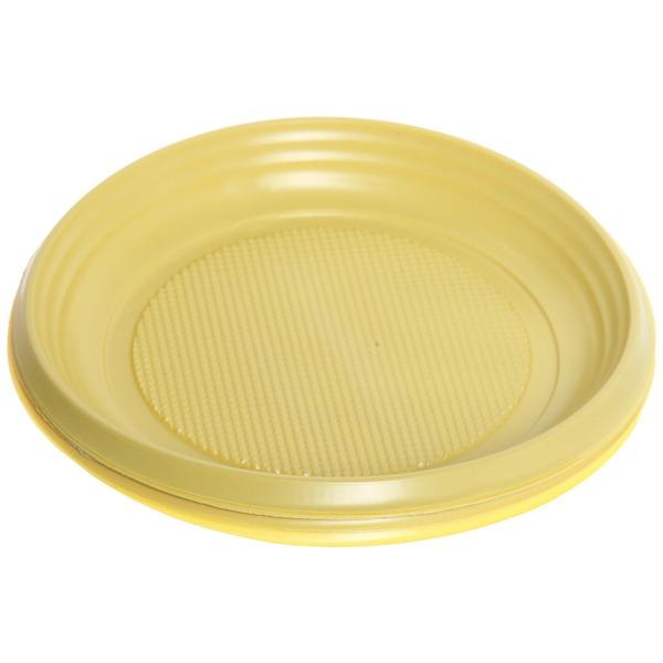 Тарелка одноразовая 17см в наборе 12шт (1/50) купить оптом и в розницу