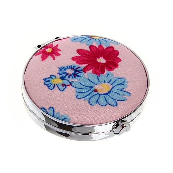 Зеркало косметическое ″Ромашки″ круг, цвета в ассортименте d-7см купить оптом и в розницу